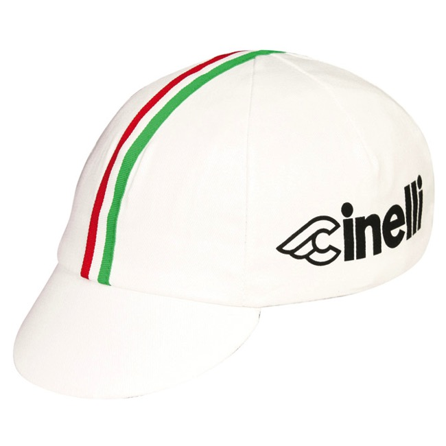 Pace Cinelli Italia Cycling Cap - One Size Fits All (White)
