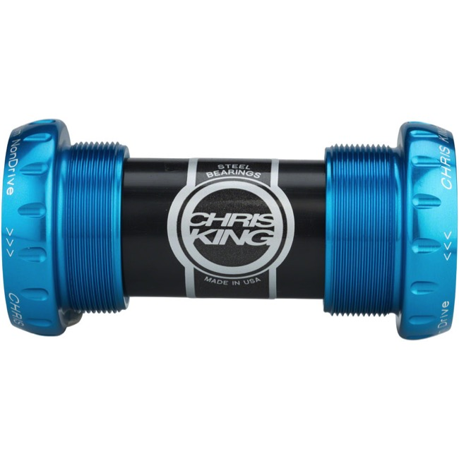 Chris King ThreadFit 24 Bottom Bracket - Turquoise