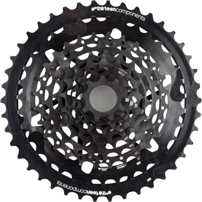E-Thirteen TRS Plus 10sp Cassette - 9-42t (9,10,12,14,17,20,24,28,35,42)