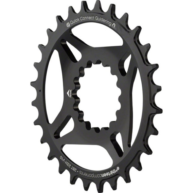 E-Thirteen DM Guidering M Chainring - 30t Direct Mount (Black)
