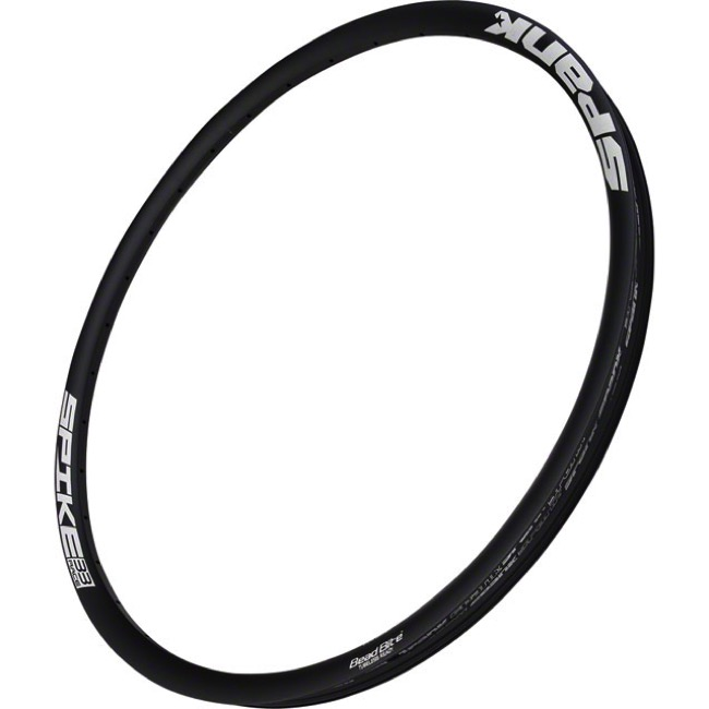 "Spank Spike Race 33 27.5"" (650b) Rim - 27.5"" x 32 Hole (Black)"