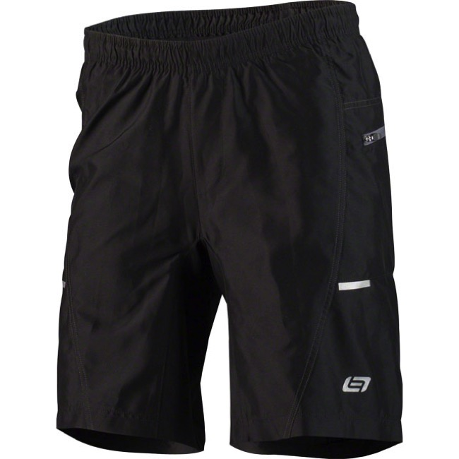 Bellwether Ultralight Gel Baggies Cycling Shorts - Black - Large (Black)