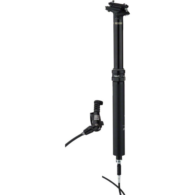 Rock Shox Reverb Stealth B1 Seatpost - Left Side Remote, 31.6mm x 340mm (100mm Travel)