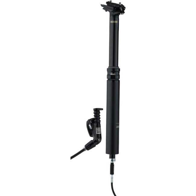 Rock Shox Reverb Stealth B1 Seatpost - Left Side Remote, 34.9mm x 390mm (125mm Travel)