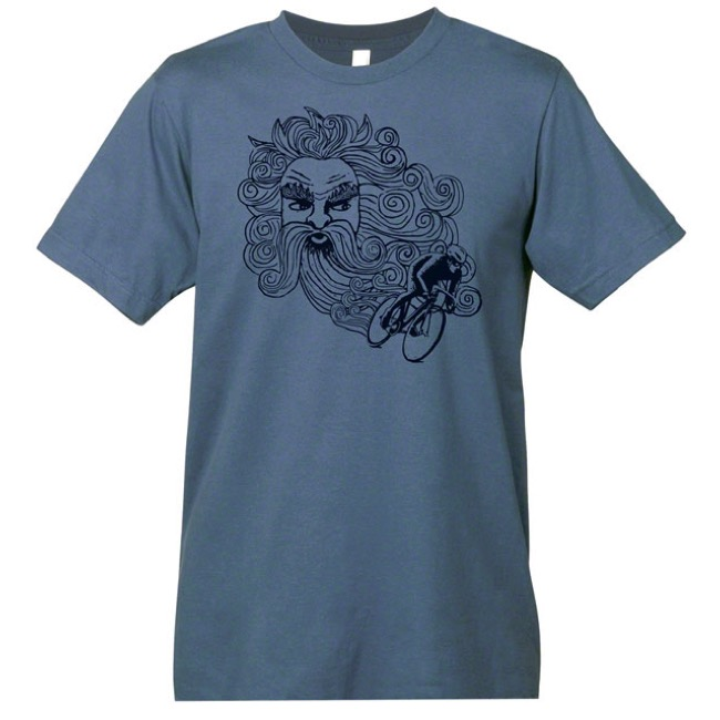 Mechanical Threads Wind At Your Back T-Shirt - Blue - X Large (Blue)