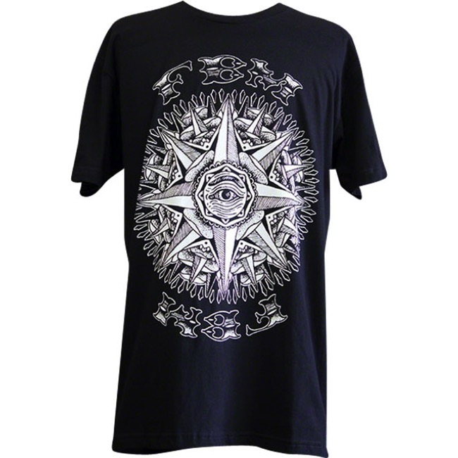 FBM Compass T-Shirt - Black - Large (Black)