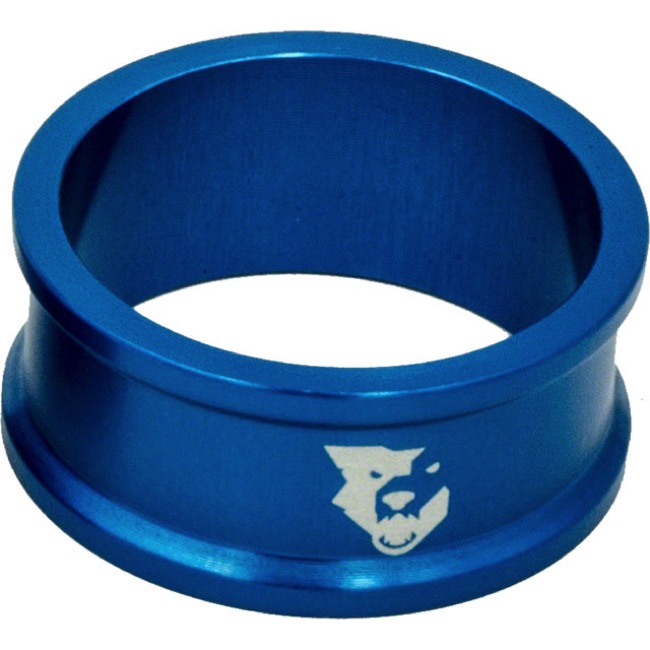 "Wolf Tooth Components Headset Spacers - 1 1/8"" x 15mm Bag of 5 (Blue)"