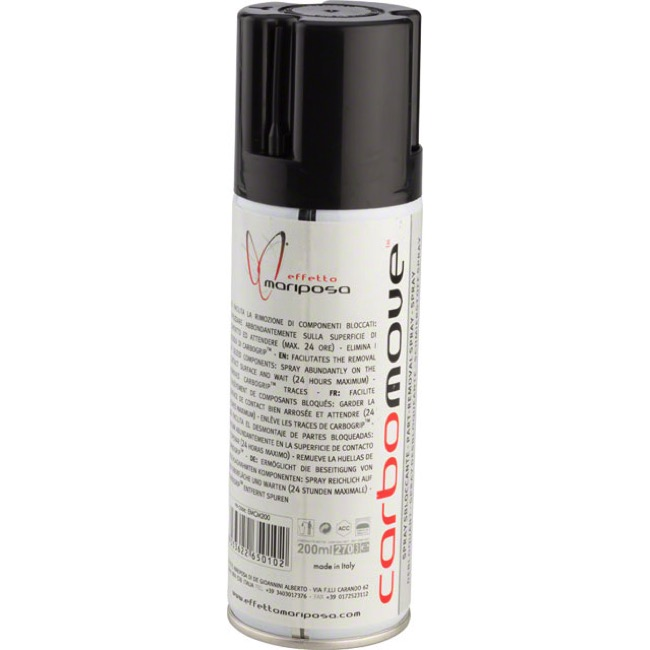 Effetto Mariposa Carbomove Penetrating Oil/Solvent - 200ml Aerosol