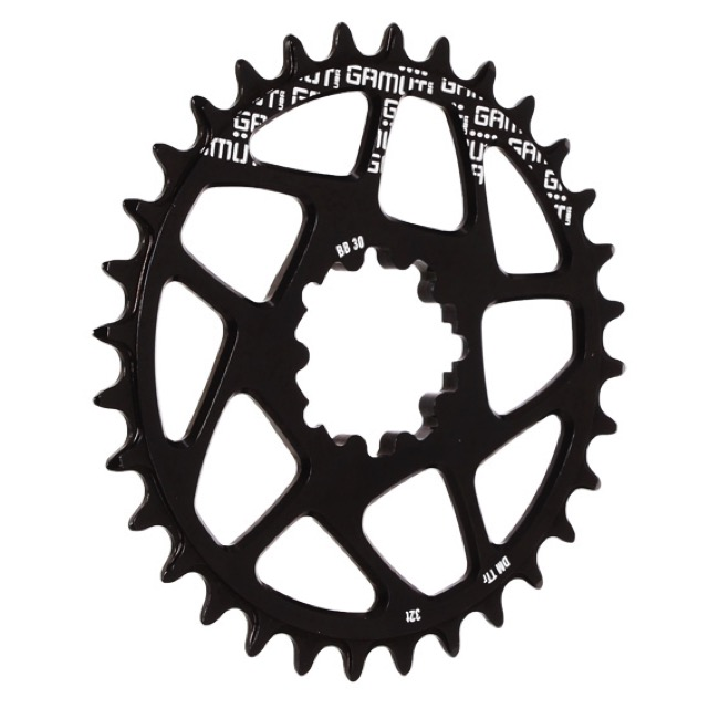 Gamut TTr BB30 Direct Mount Chainrings - 32t (Black)