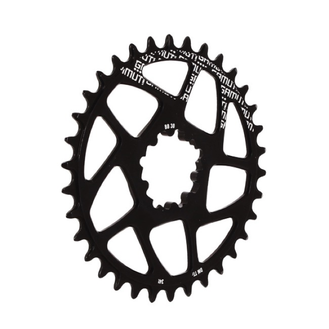 Gamut TTr BB30 Direct Mount Chainrings - 34t (Black)