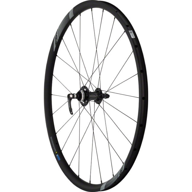 FSA NS Road/Gravel Disc Wheelset - Front 9x100mm QR, 12/15x100mm Thru / Rear 10x135mm QR, 12x142mm (Wheelset)