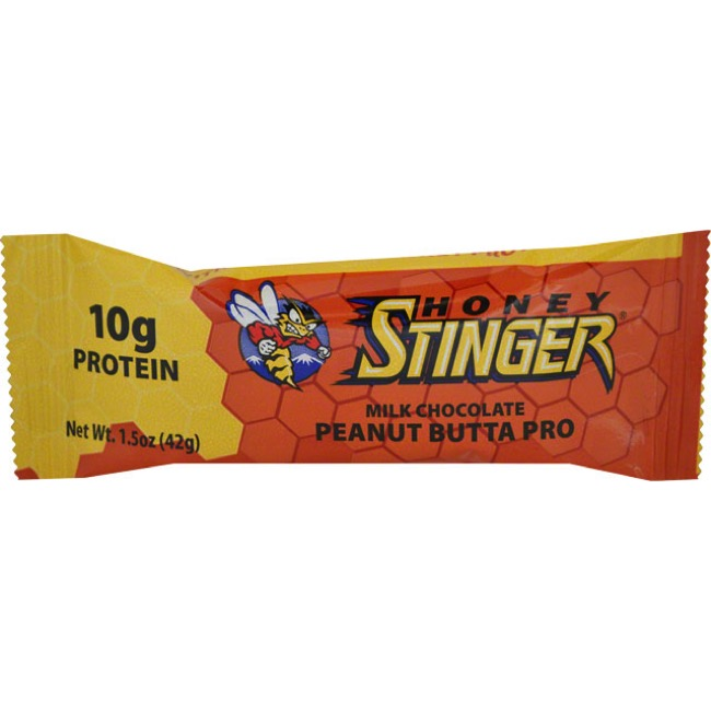 Honey Stinger 10g Protein Bar - Peanut Butta (Box of 15)