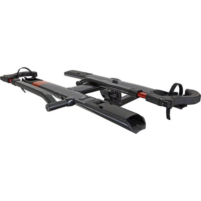 "Kuat Sherpa 2.0 2 Bike Hitch Rack - 2"" or 1 1/4"" Available - 2-Bike Rack, 2"" Hitch (Gray Metallic)"