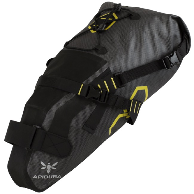 Apidura Saddle Pack Dry - 9L (Grey/Black)