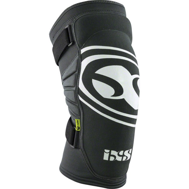 iXS Carve EVO Knee Guards - Grey - Large (Grey)