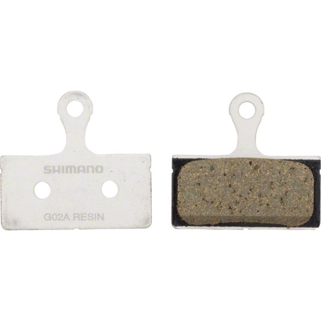 Shimano Disc Pads - G02A Resin/Alloy Back (M9000/9020/985/8000/785/615/666/S700/R785/RS785)