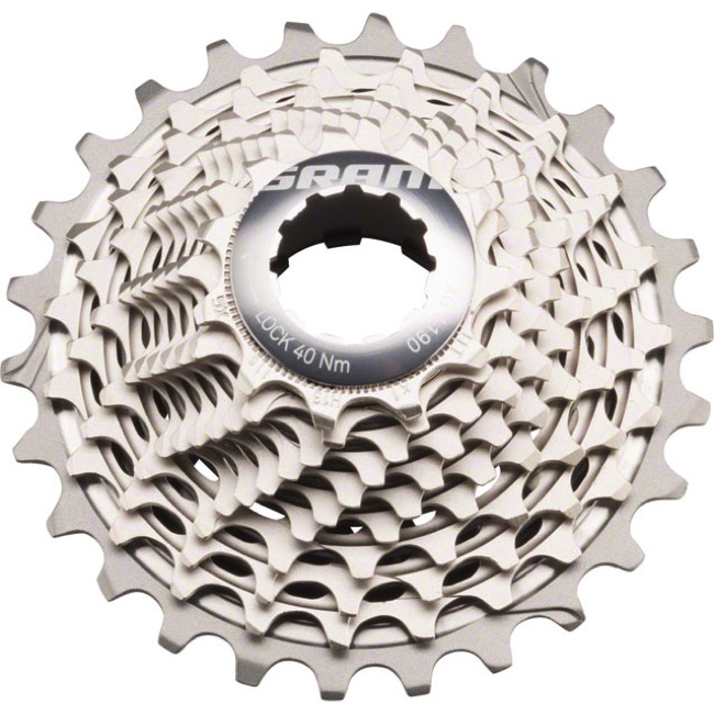 Sram XG-1190 Red HG 11sp Cassette A2 - 11-26t (11,12,13,14,15,16,17,19,21,23,26)