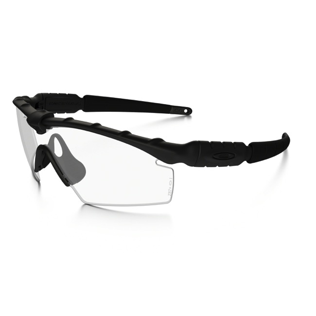 Oakley Industrial M Frame 2.0 Safety Sunglasses - Matte Black/Clear - Matte Black/Clear