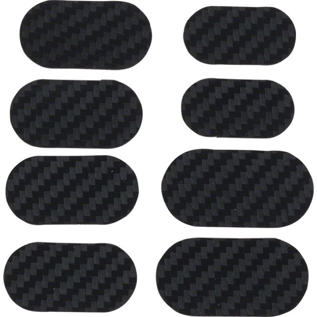Lizard Skins Adhesive Bike Protection Patch Kit - Carbon Leather - Kit (Carbon Leather)