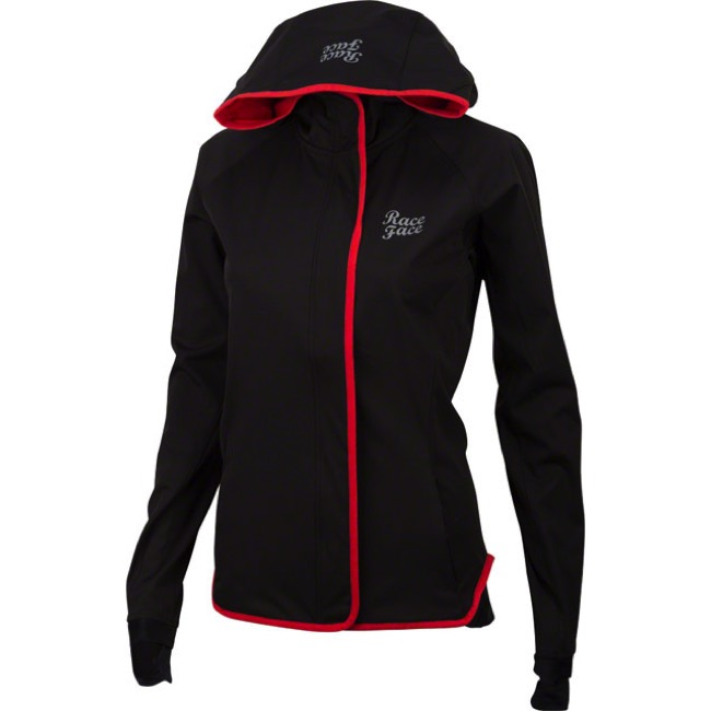 Race Face Scout Women's Jacket - Black - Medium (Black)