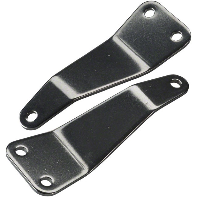 Surly Front Rack Hardware - Lower Offset Sliding Mounting Plate