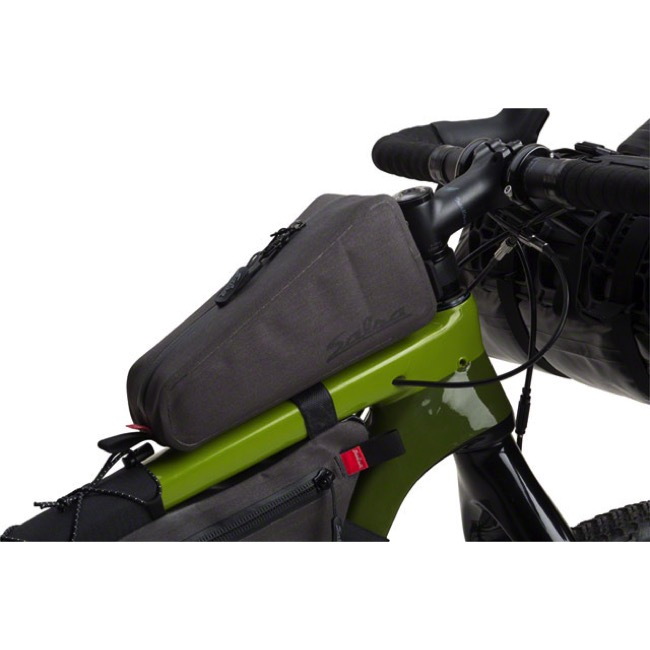 Salsa EXP Series Top Tube Bag - Grey