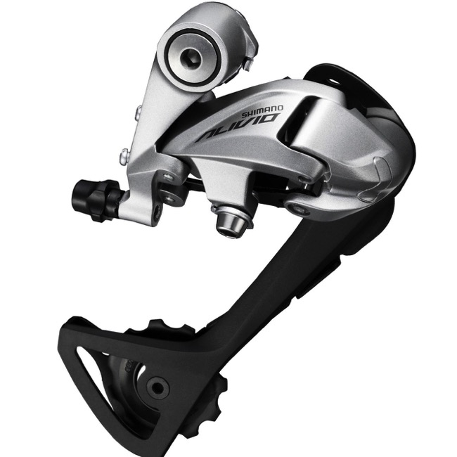 Shimano RD-T4000 Rear Derailleurs - 9 Speed - SGS Long Cage (Silver)