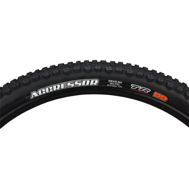 "Maxxis Aggressor DC/DD TR 29"" Tire - 29 x 2.3"" (Folding Bead)"