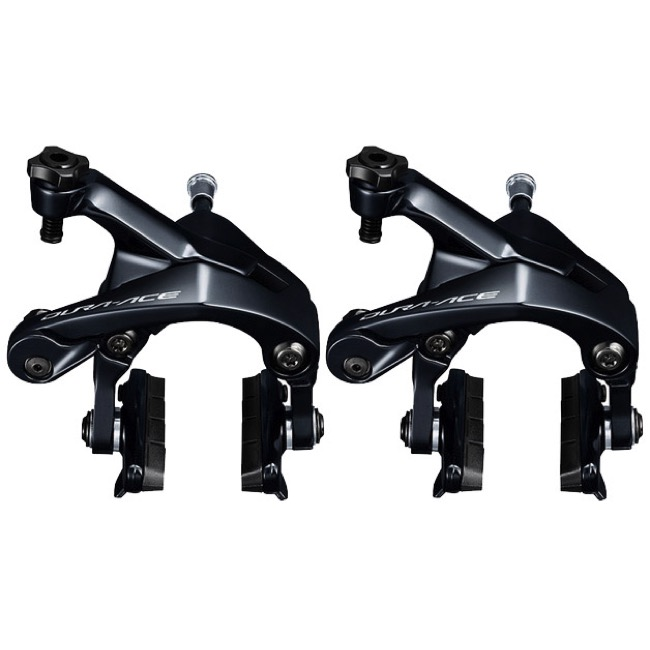 Shimano BR-R9100 Dura-Ace Brakes - Front and Rear Set (Black)