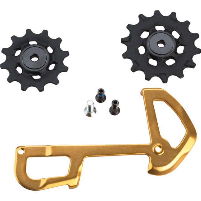 Sram Mountain Rear Derailleur Parts - XX1 Eagle Inner Cage Assembly, 12 Speed (Gold)