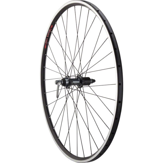 Shimano Ultegra 6800/Velocity Major Tom Wheel - Tubular 700c x 32h x 10x130mm QR (Black)