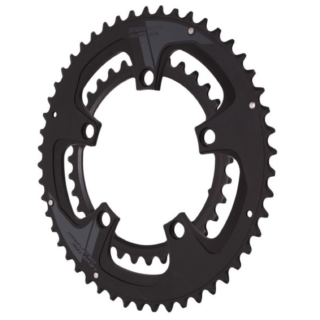 Praxis Works Forged Chainring Sets - 130mm BCD - 39/53t x 130mm BCD (2-Tone Buzz)