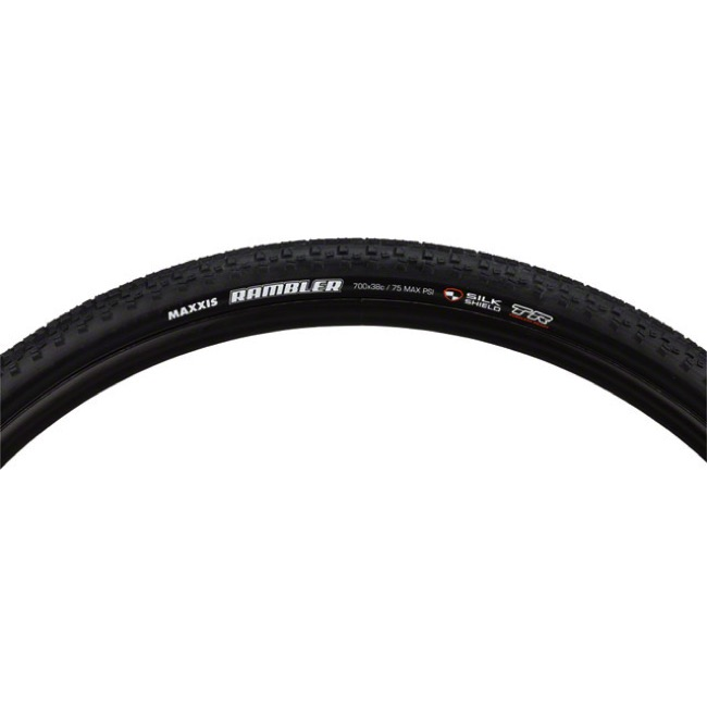 Maxxis Rambler SilkShield TR Gravel Tire - 700 x 38c (Folding Bead)
