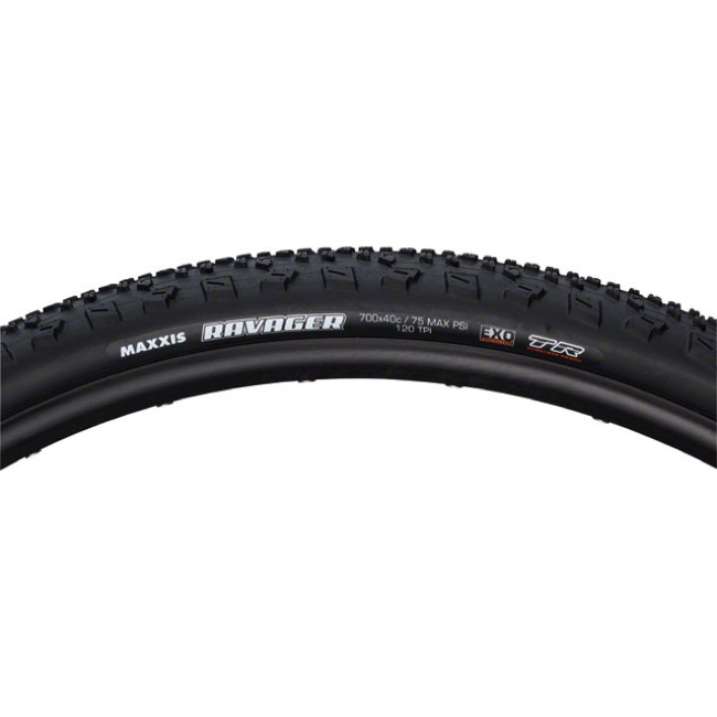 Maxxis Ravager SilkShield Tubeless Ready Tire - 700 x 40c (Folding Bead)