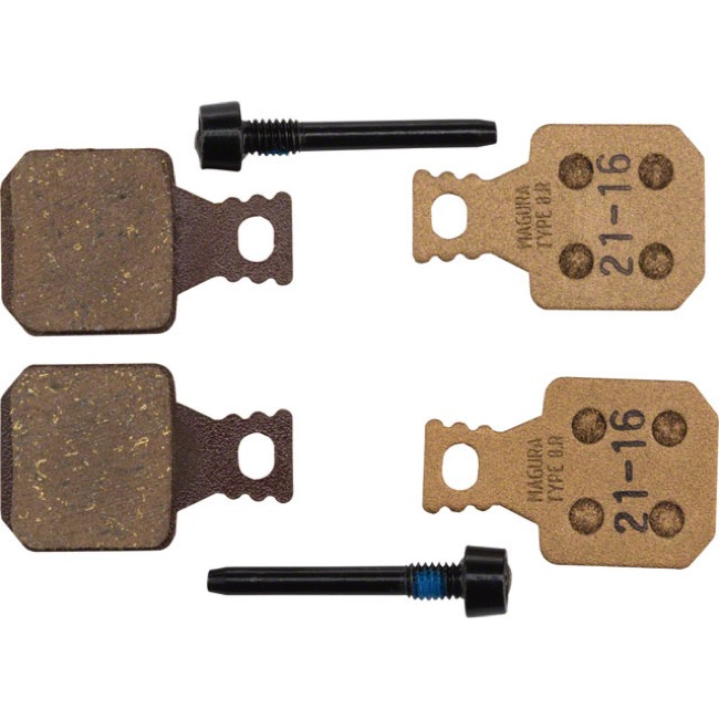 Magura Disc Brake Replacement Pads - MT5/MT7 ab from MJ 2015 (8.R Race Compound)