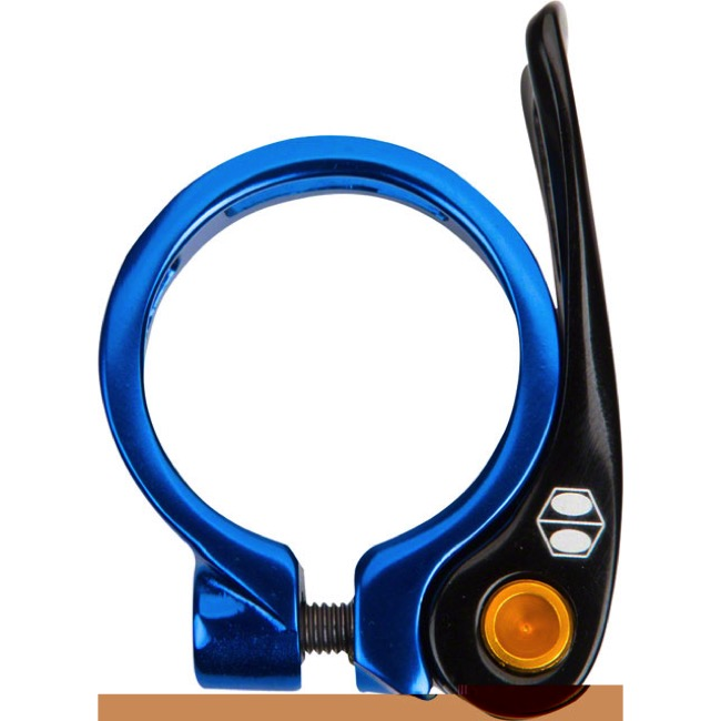 BOX Helix Quick Release Seat Clamp - 34.9mm (Blue)