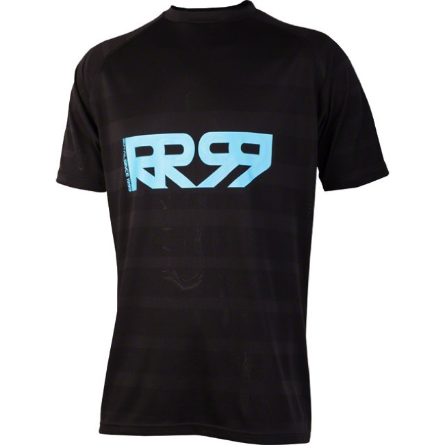 Royal Impact SS Jersey - Black/Electric Blue - Medium (Black/Electric Blue)