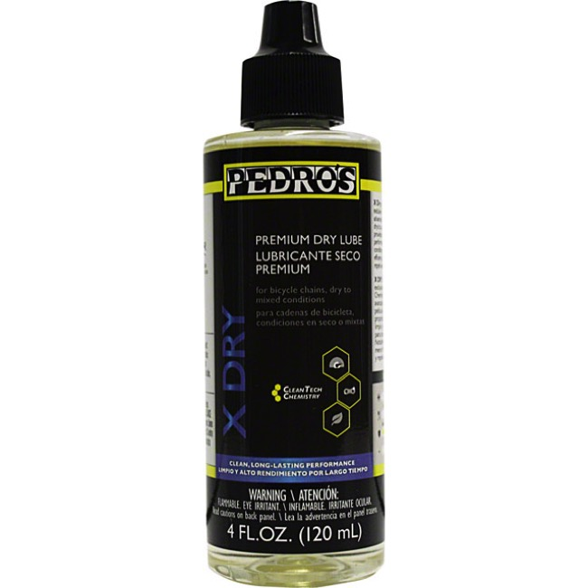 Pedro's X Dry Chain Lubricant - 4 oz. Bottle
