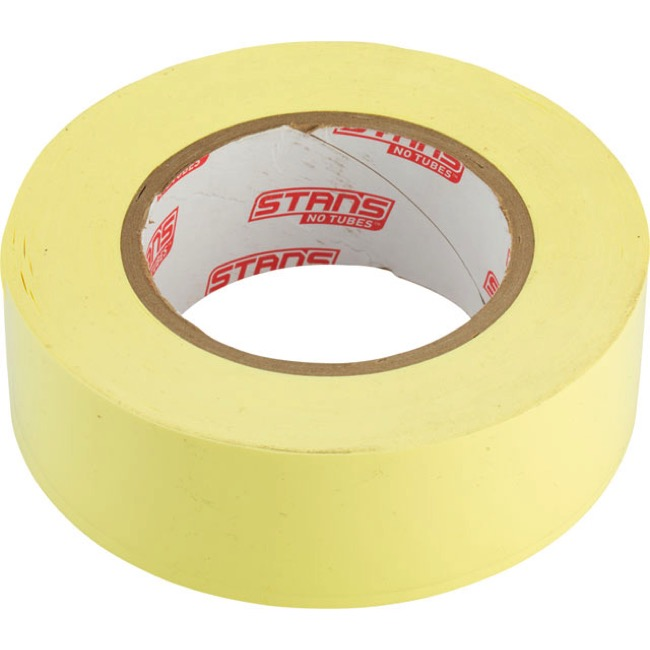 Stans Yellow Rim Tape - 60 Yard - 33mm (31-33mm Internal Width Rims)