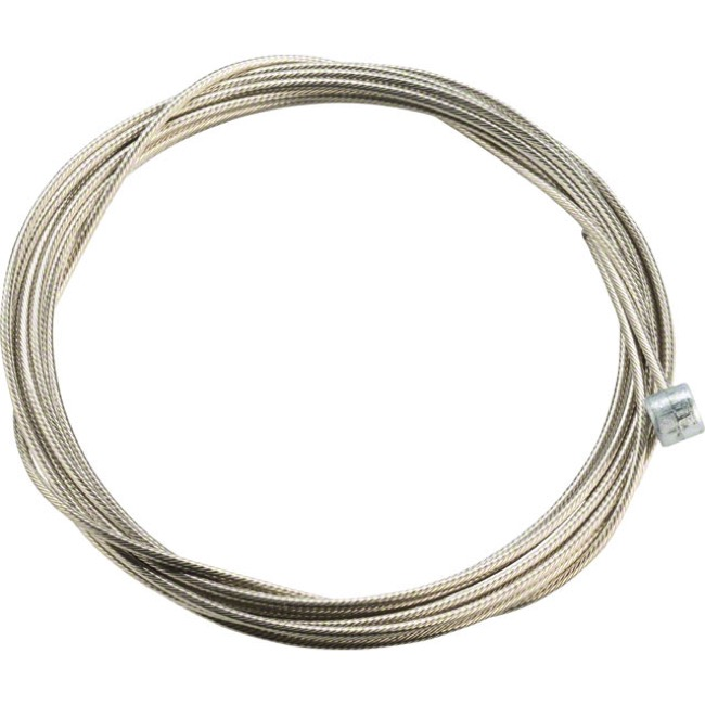 Jagwire Pro Slick Polished Stainless Brake Cables - Polished/Stainless 2750mm (Shimano/SRAM Mountain Only)