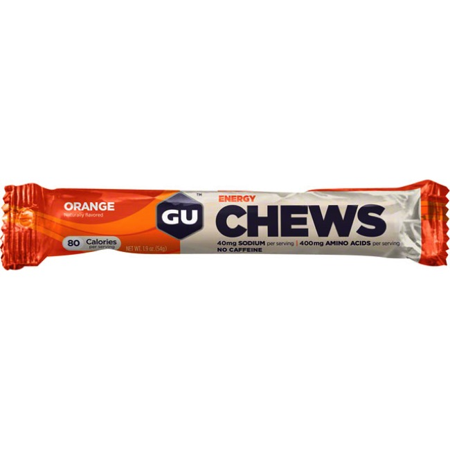 GU Energy Chews - Orange (Single Serving)