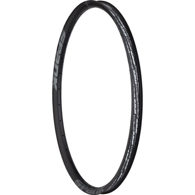 "Spank Spike Race 33 27.5"" (650b) Rim - 27.5"" x 32 Hole (Black/Gray Bearclaw Edition)"