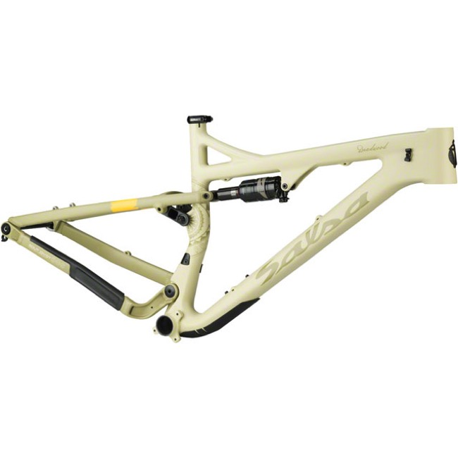 Salsa Deadwood Suspension Carbon 29+ Frame - Sand - Small (Sand)