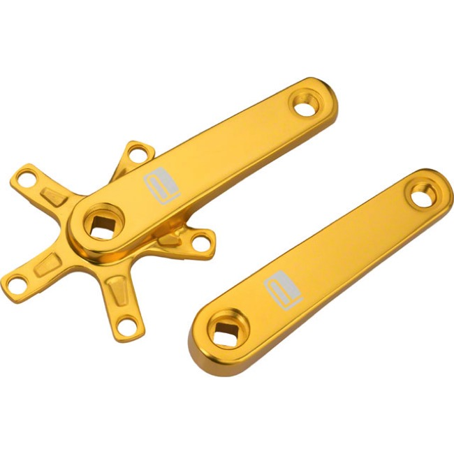 Promax SQ-1 Cold Forged Crank Arms - 135mm (Gold)