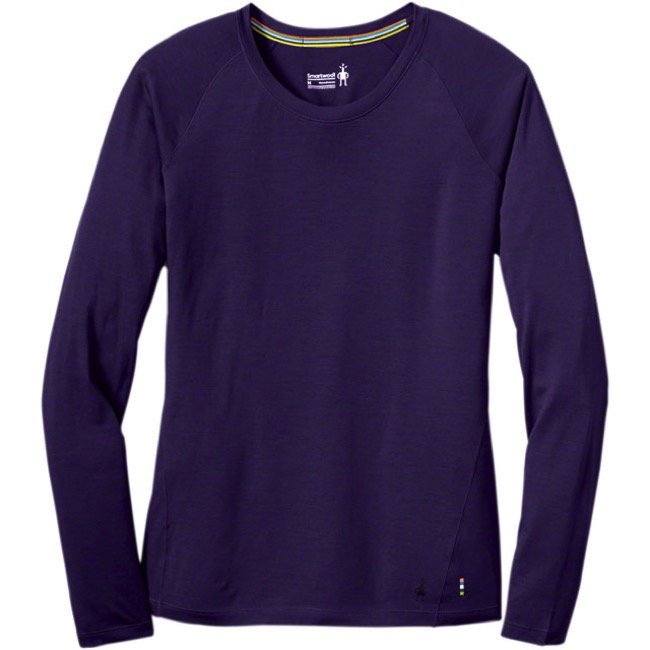 Smartwool Merino 150 Long Sleeve Base Layer Top - Mountain Purple - Large (Mountain Purple)