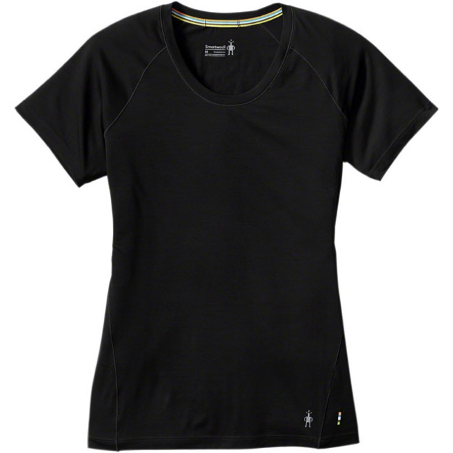 Smartwool Merino 150 Short Sleeve Base Layer Top - Black - Small (Black)