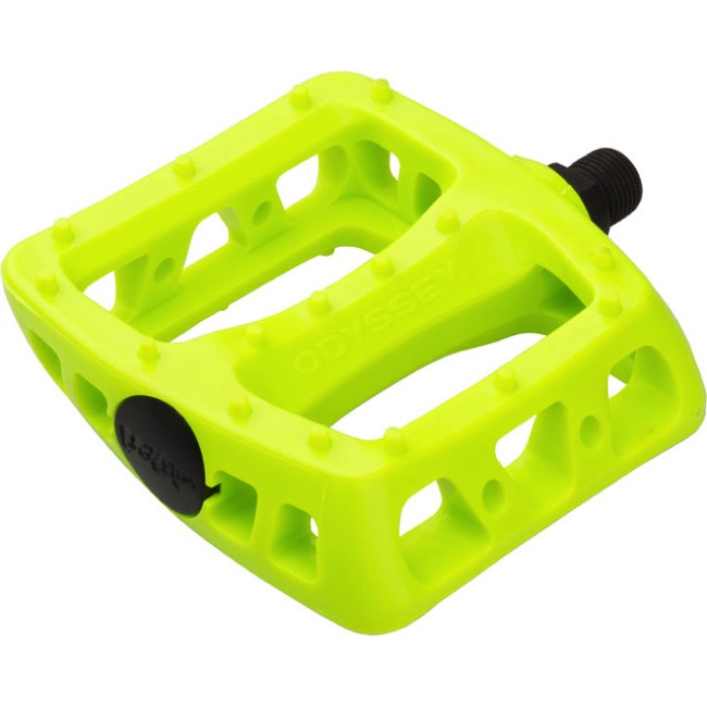 "Odyssey Twisted PC Pedals - 9/16"" - Pair (Fluorescent Yellow)"