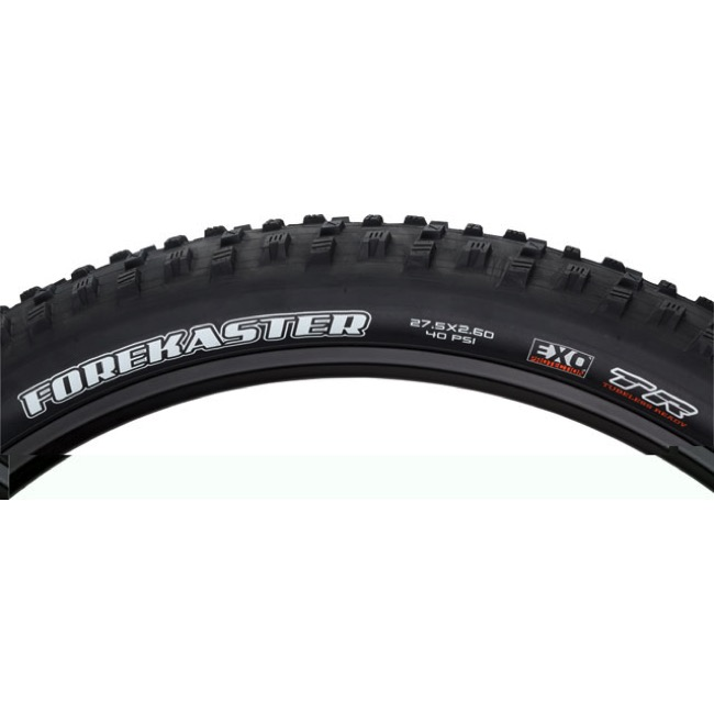 "Maxxis Forekaster DC/EXO/TR 27.5"" Tire - 27.5 x 2.6"" WT, 60 TPI (Folding Bead)"