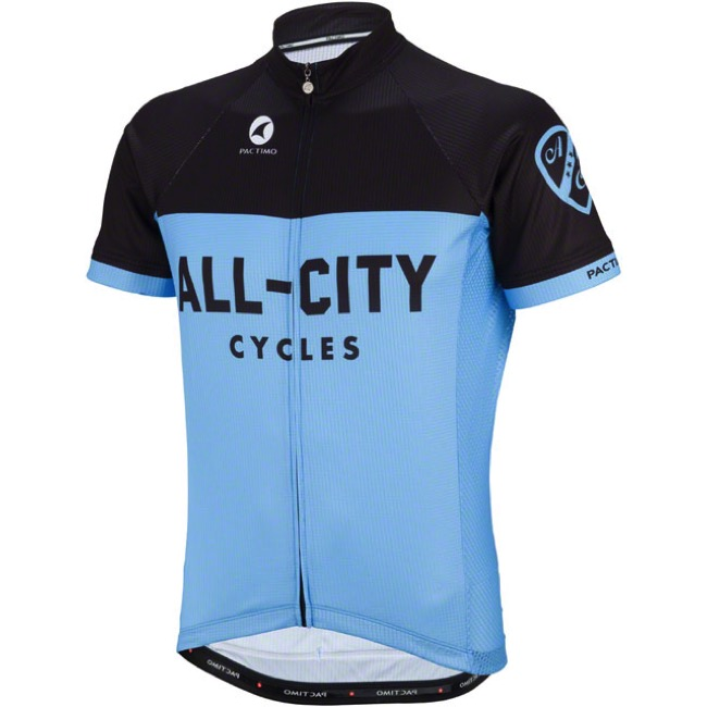 All-City Classic Jersey - Blue/Black - X Large (Blue/Black)
