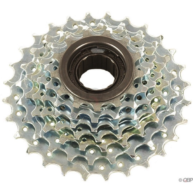 SunRace 7 Speed Freewheels - 13-28t (Silver)
